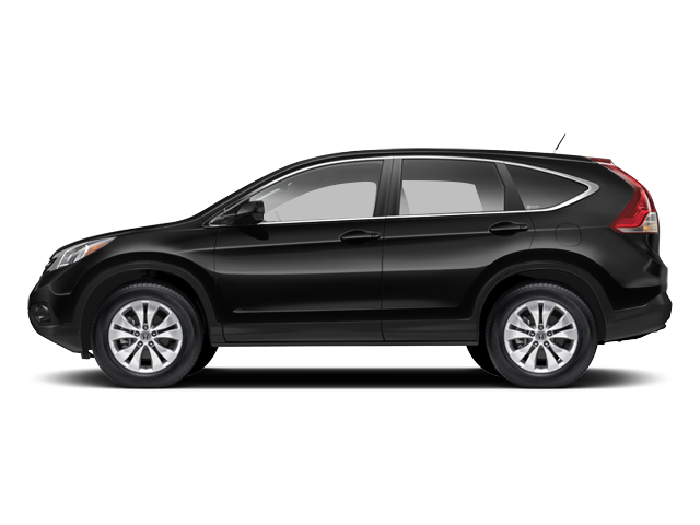 Crystal Black Pearl 2013 Honda CR-V Pictures CR-V Utility 4D EX-L 4WD I4 photos side view