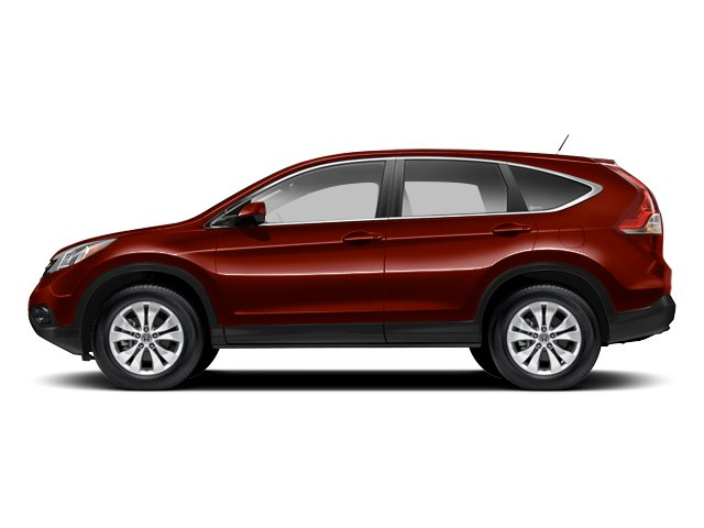 Basque Red Pearl II 2013 Honda CR-V Pictures CR-V Utility 4D EX-L 4WD I4 photos side view