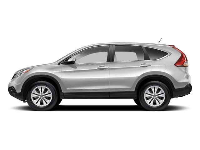 White Diamond Pearl 2013 Honda CR-V Pictures CR-V Utility 4D EX-L 4WD I4 photos side view