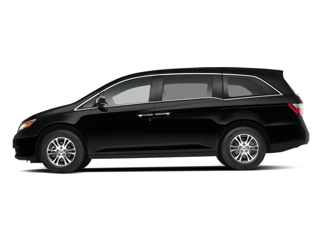 Crystal Black Pearl 2013 Honda Odyssey Pictures Odyssey Wagon 5D EX-L V6 photos side view