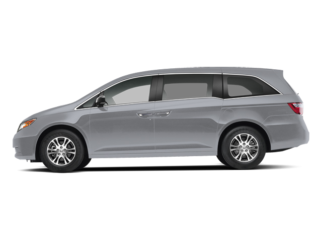 Alabaster Silver Metallic 2013 Honda Odyssey Pictures Odyssey Wagon 5D EX-L V6 photos side view