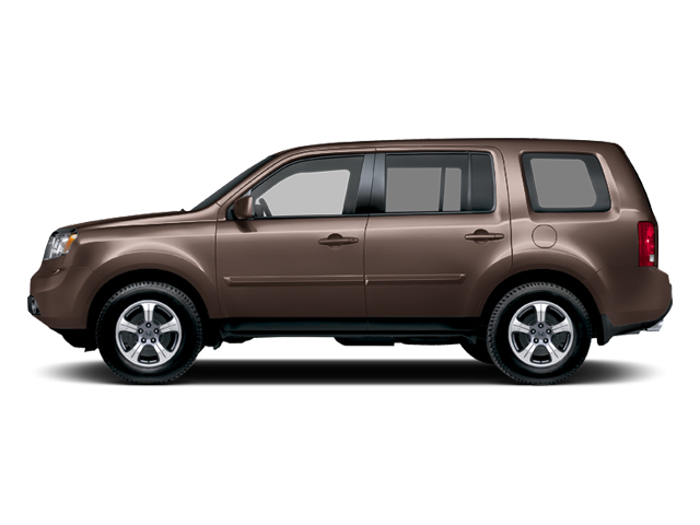 Dark Amber Metallic 2013 Honda Pilot Pictures Pilot Utility 4D EX-L DVD 4WD V6 photos side view