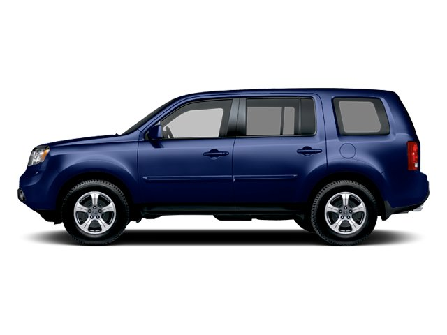 Obsidian Blue Pearl 2013 Honda Pilot Pictures Pilot Utility 4D EX-L DVD 4WD V6 photos side view