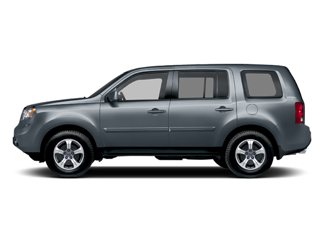 Polished Metal Metallic 2013 Honda Pilot Pictures Pilot Utility 4D EX-L DVD 4WD V6 photos side view