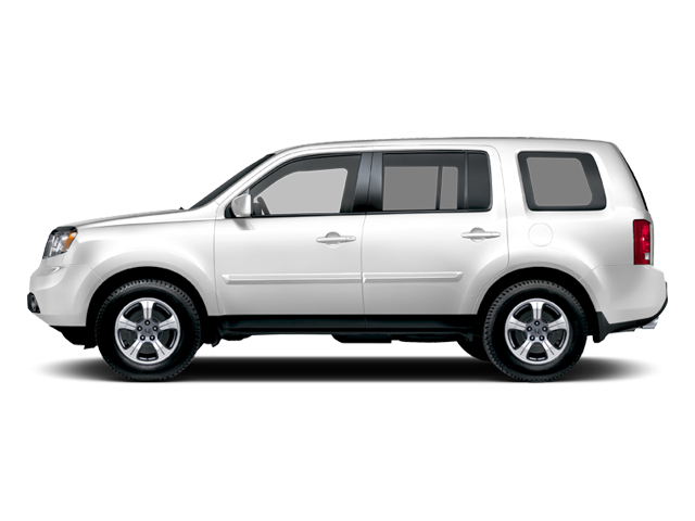 Taffeta White 2013 Honda Pilot Pictures Pilot Utility 4D EX-L DVD 4WD V6 photos side view