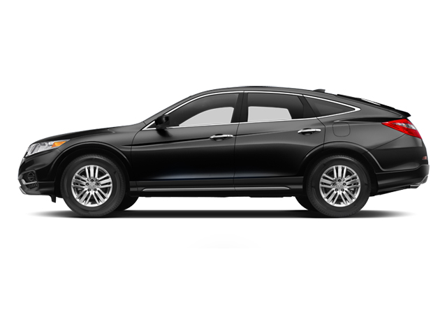Crystal Black Pearl 2013 Honda Crosstour Pictures Crosstour Utility 4D EX-L 2WD I4 photos side view