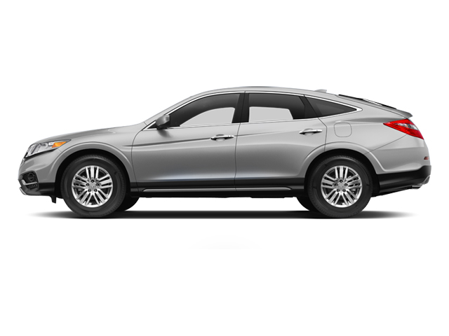 Alabaster Silver Metallic 2013 Honda Crosstour Pictures Crosstour Utility 4D EX-L 2WD I4 photos side view