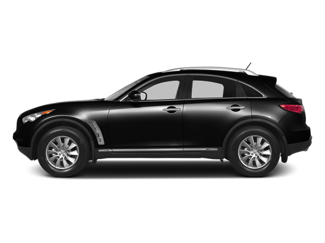 Malbec Black 2013 INFINITI FX50 Pictures FX50 Utility 4D FX50 AWD V8 photos side view