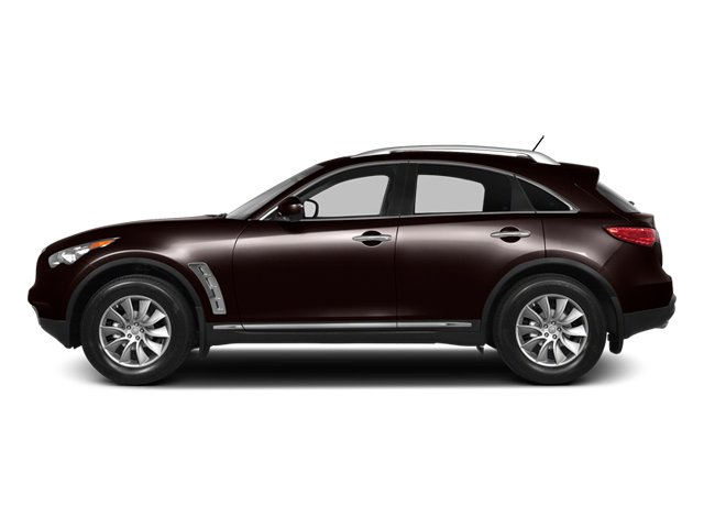 Midnight Mocha 2013 INFINITI FX50 Pictures FX50 Utility 4D FX50 AWD V8 photos side view