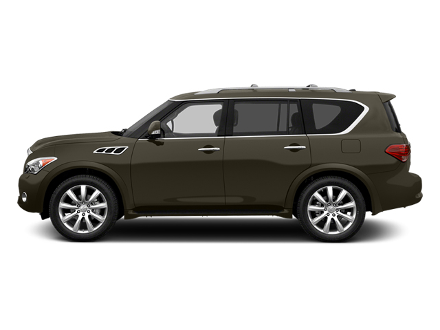 Smoky Quartz 2013 INFINITI QX56 Pictures QX56 Utility 4D 4WD photos side view