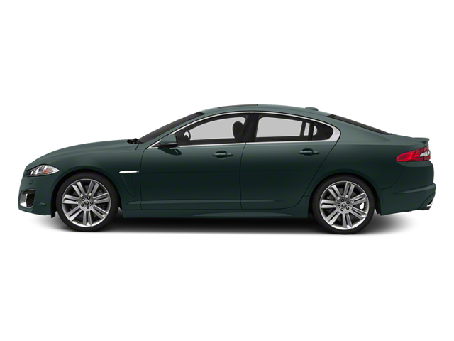 British Racing Green 2013 Jaguar XF Pictures XF Sedan 4D XFR V8 Supercharged photos side view