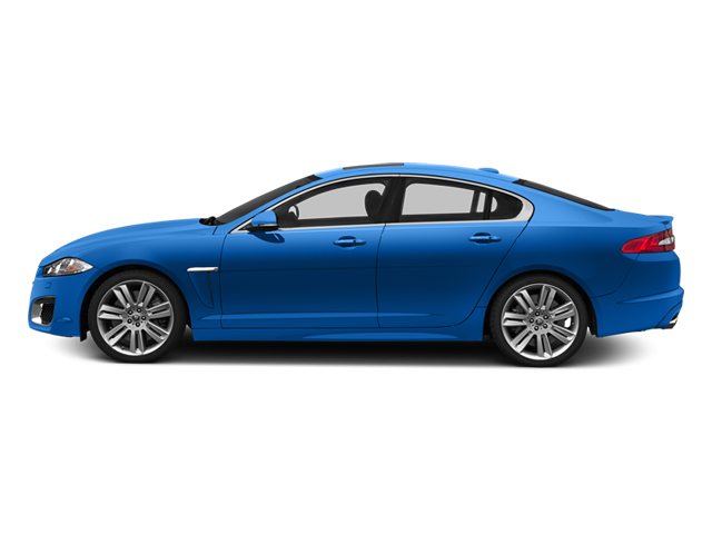 French Racing Blue 2013 Jaguar XF Pictures XF Sedan 4D XFR-S V8 Supercharged photos side view