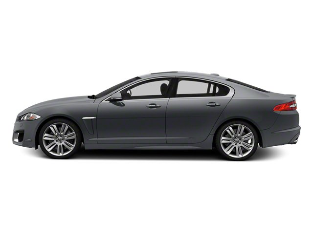 Lunar Grey Metallic 2013 Jaguar XF Pictures XF Sedan 4D XFR V8 Supercharged photos side view