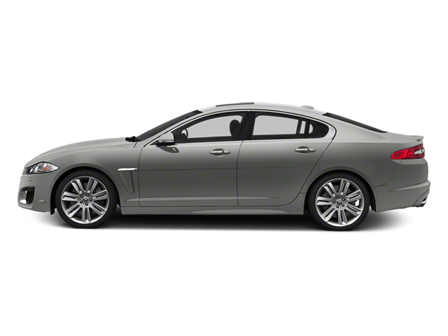 Rhodium Silver Metallic 2013 Jaguar XF Pictures XF Sedan 4D XFR V8 Supercharged photos side view