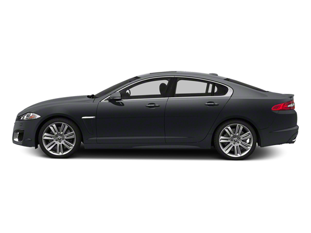 Stratus Grey Metallic 2013 Jaguar XF Pictures XF Sedan 4D XFR V8 Supercharged photos side view