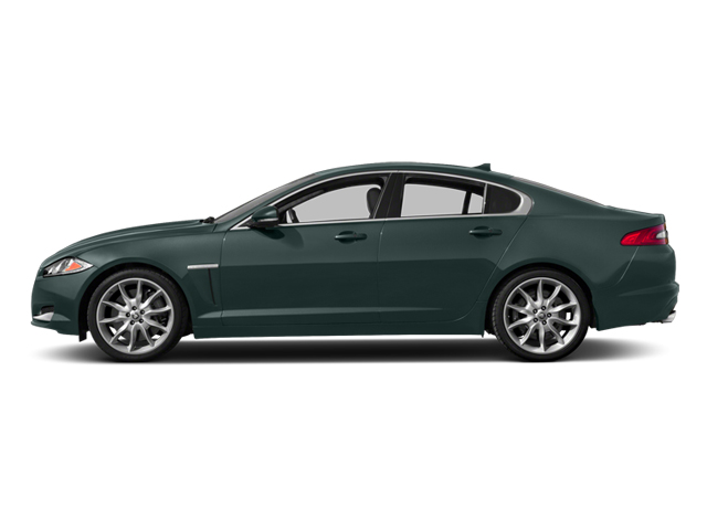 British Racing Green 2013 Jaguar XF Pictures XF Sedan 4D V8 Supercharged photos side view