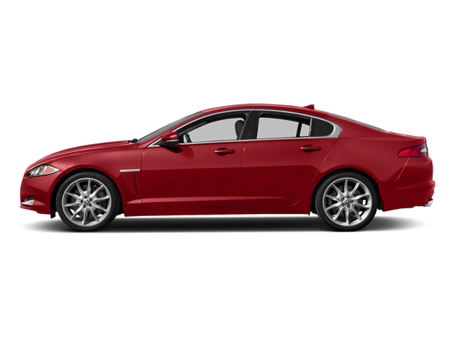 Italian Racing Red 2013 Jaguar XF Pictures XF Sedan 4D V8 Supercharged photos side view