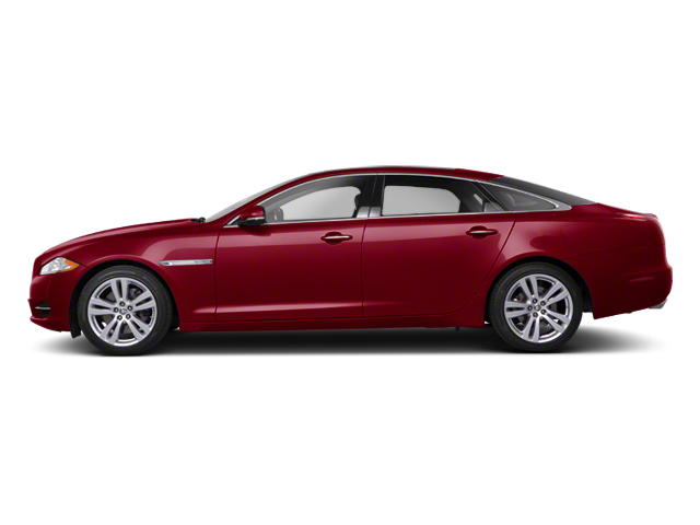 Carnelian Red 2013 Jaguar XJ Pictures XJ Sedan 4D AWD V6 photos side view