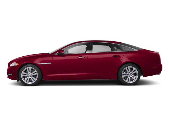 Italian Racing Red 2013 Jaguar XJ Pictures XJ Sedan 4D V6 photos side view