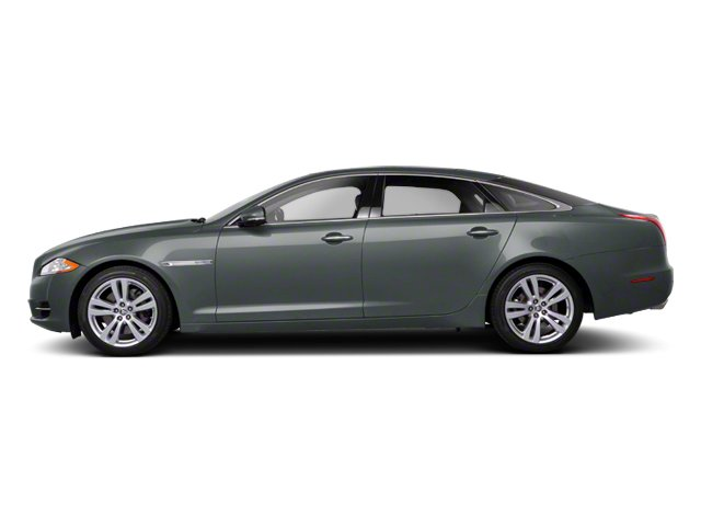 Lunar Grey 2013 Jaguar XJ Pictures XJ Sedan 4D AWD V6 photos side view