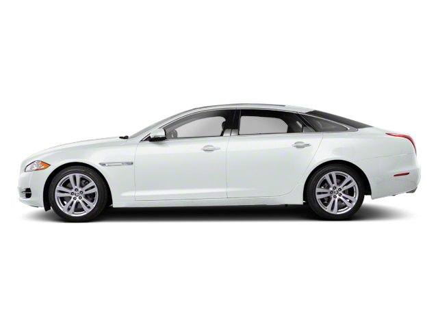 Polaris White 2013 Jaguar XJ Pictures XJ Sedan 4D AWD V6 photos side view