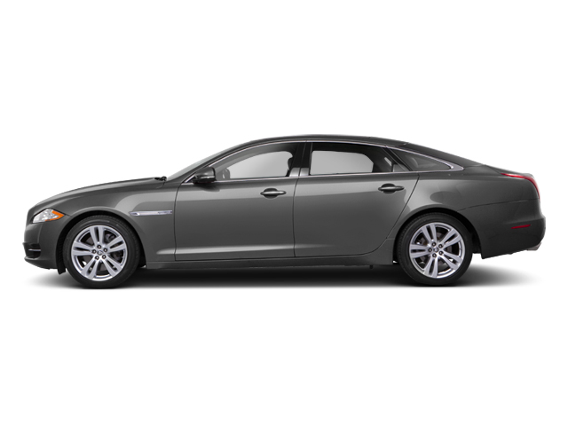 Stratus Grey 2013 Jaguar XJ Pictures XJ Sedan 4D AWD V6 photos side view