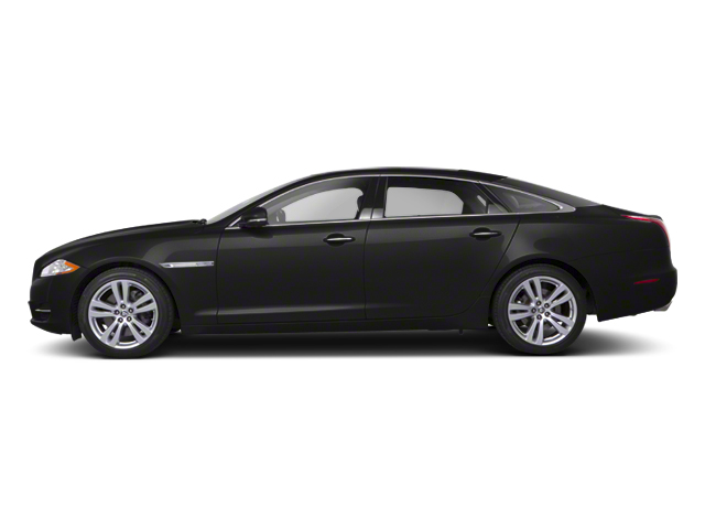 Ultimate Black 2013 Jaguar XJ Pictures XJ Sedan 4D AWD V6 photos side view
