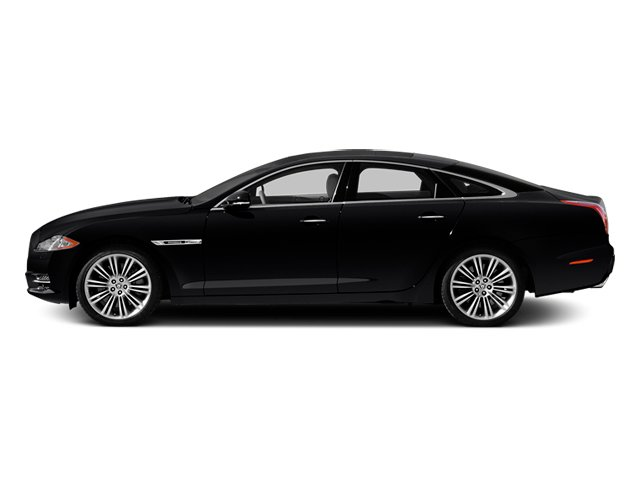 Ebony 2013 Jaguar XJ Pictures XJ Sedan 4D Supersport V8 photos side view