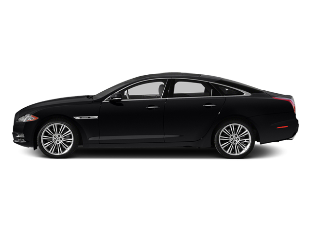 Ebony 2013 Jaguar XJ Pictures XJ Sedan 4D Speed V8 Supercharged photos side view