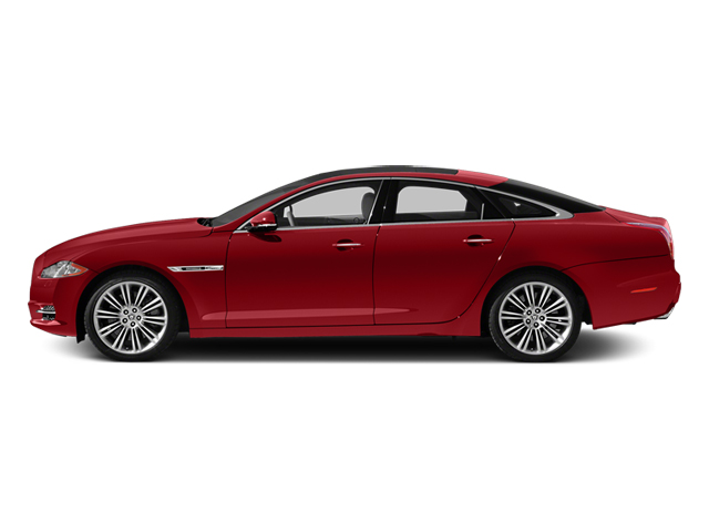 Italian Racing Red 2013 Jaguar XJ Pictures XJ Sedan 4D Speed V8 Supercharged photos side view