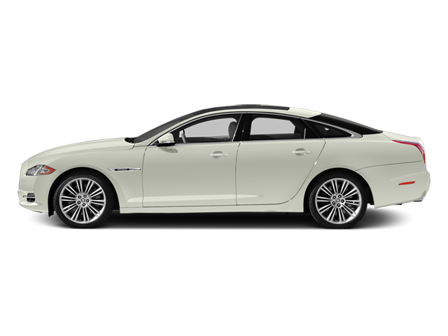 Polaris White 2013 Jaguar XJ Pictures XJ Sedan 4D Supersport V8 photos side view