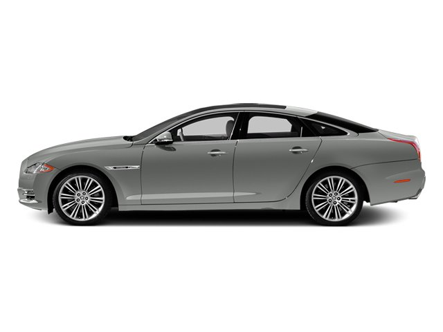 Rhodium Silver 2013 Jaguar XJ Pictures XJ Sedan 4D Supersport V8 photos side view