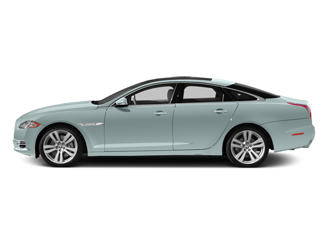 Crystal Blue 2013 Jaguar XJ Pictures XJ Sedan 4D L Portfolio AWD V6 photos side view
