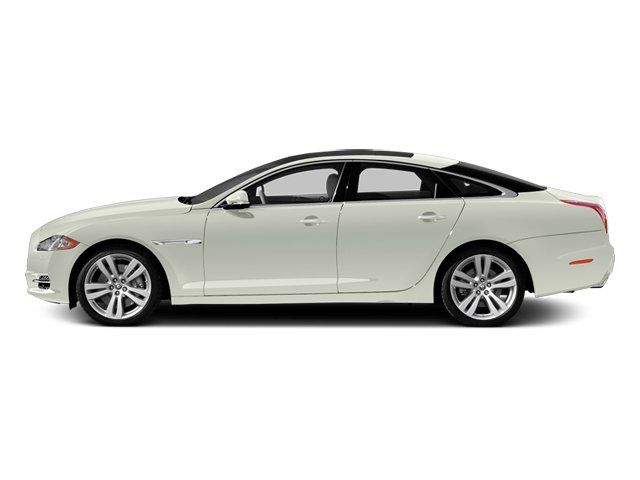 Polaris White 2013 Jaguar XJ Pictures XJ Sedan 4D L Portfolio AWD V6 photos side view