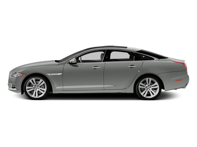 Rhodium Silver 2013 Jaguar XJ Pictures XJ Sedan 4D L Portfolio AWD V6 photos side view