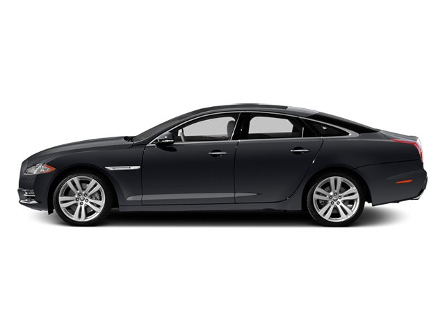 Stratus Grey 2013 Jaguar XJ Pictures XJ Sedan 4D L Portfolio AWD V6 photos side view