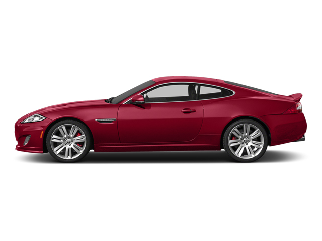 Carnelian Red Metallic 2013 Jaguar XK Pictures XK Coupe 2D XKR Supercharged photos side view