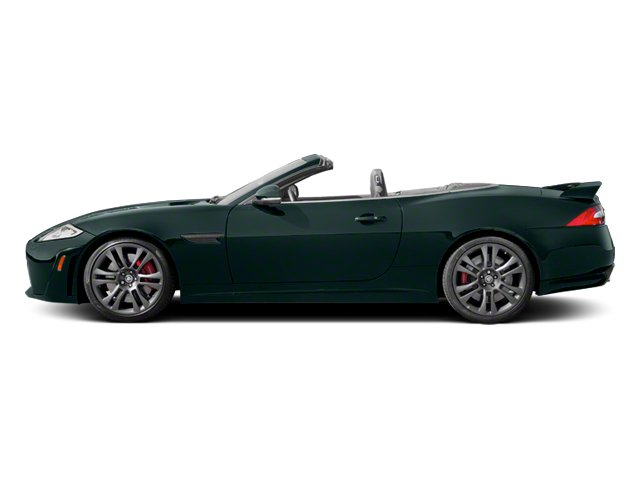 British Racing Green 2013 Jaguar XK Pictures XK Convertible XKR-S Supercharged photos side view
