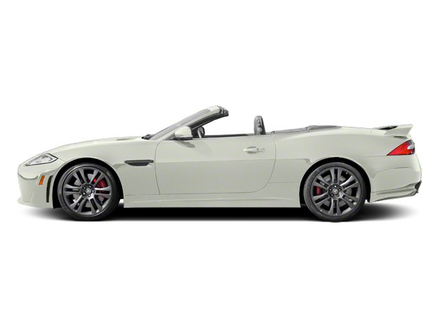 Polaris White 2013 Jaguar XK Pictures XK Convertible XKR-S Supercharged photos side view