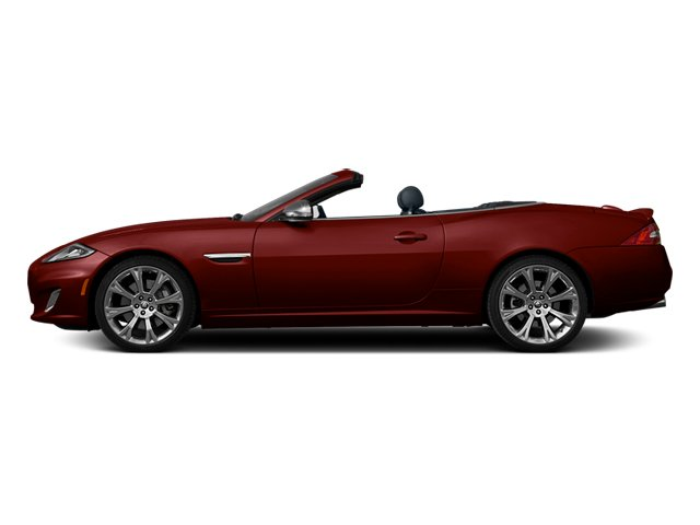 Claret 2013 Jaguar XK Pictures XK Convertible XKR Supercharged photos side view