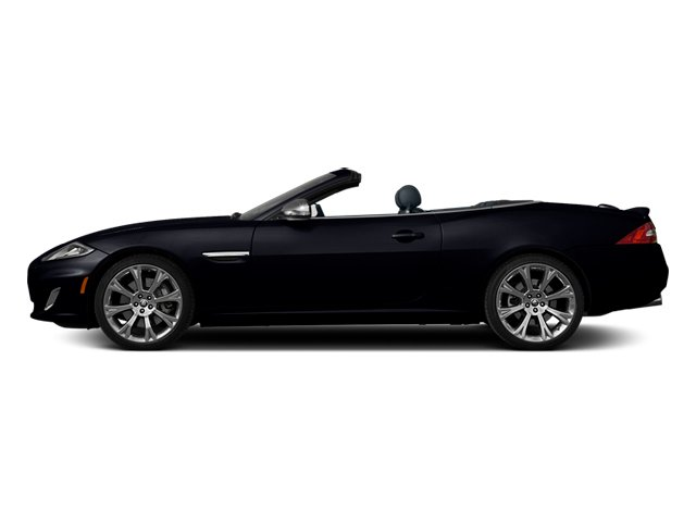 Celestial Black 2013 Jaguar XK Pictures XK Convertible XKR Supercharged photos side view