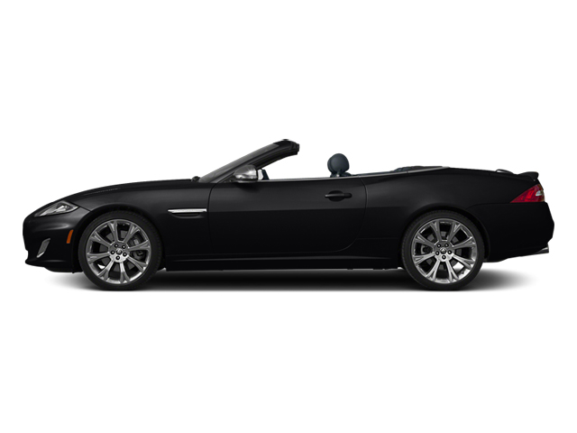 Ebony 2013 Jaguar XK Pictures XK Convertible XKR Supercharged photos side view