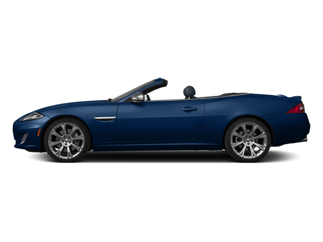Indigo Blue Metallic 2013 Jaguar XK Pictures XK Convertible XKR Supercharged photos side view