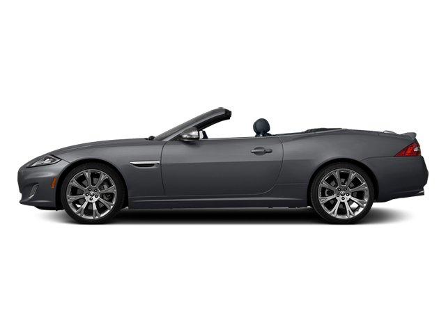 Lunar Grey Metallic 2013 Jaguar XK Pictures XK Convertible XKR Supercharged photos side view