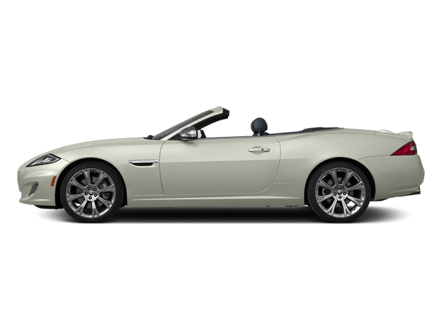 Polaris White 2013 Jaguar XK Pictures XK Convertible XKR Supercharged photos side view
