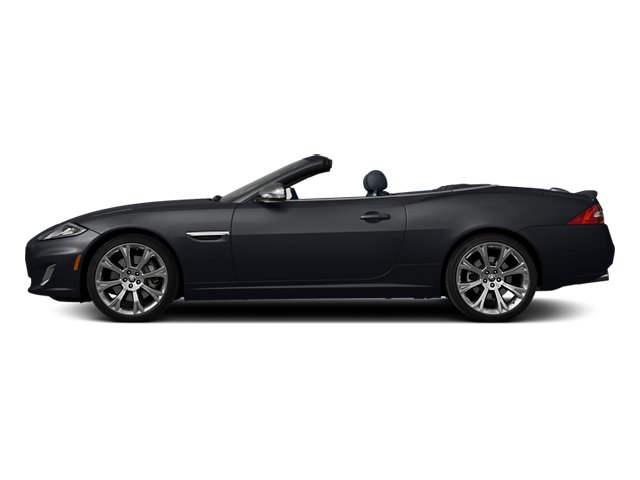 Stratus Grey Metallic 2013 Jaguar XK Pictures XK Convertible XKR Supercharged photos side view