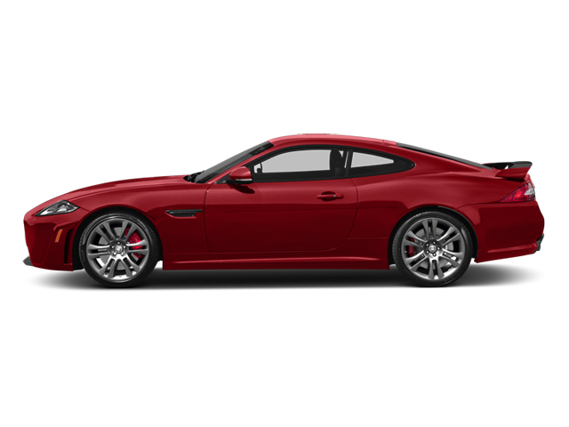 Italian Racing Red 2013 Jaguar XK Pictures XK Coupe 2D XKR-S Supercharged photos side view