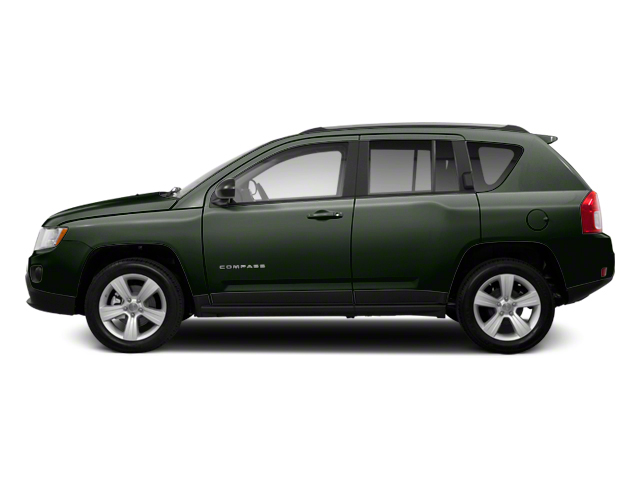 Black Forest Green Pearl 2013 Jeep Compass Pictures Compass Utility 4D Latitude 4WD photos side view