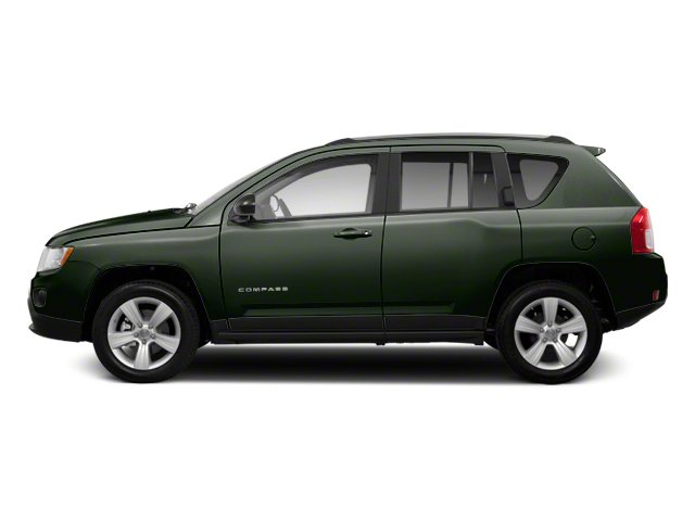 Black Forest Green Pearl 2013 Jeep Compass Pictures Compass Utility 4D Sport 2WD photos side view