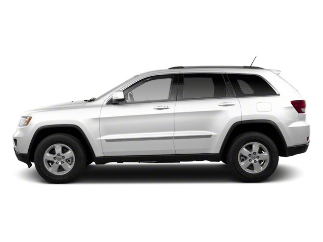 Bright White 2013 Jeep Grand Cherokee Pictures Grand Cherokee Utility 4D Overland 4WD photos side view